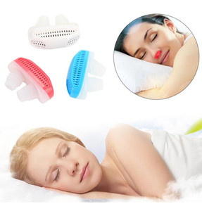 Wholesale Mini Anti Snoring Air Purifier Nose Device Stop Snore Nasal Cpap Ventilation Silicone Device Anti Snoring Purifier Colors