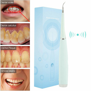 Wholesale kit tooth whitening for sale - Group buy Electric Tooth Cleaner Ultrasonic Oral Irrigator Teeth Stain Dental Cleaning Kit