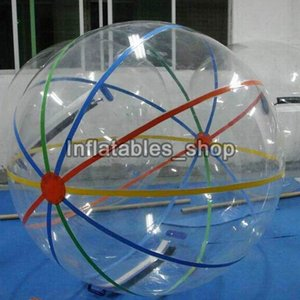 Wholesale Inflatable Water Walking Ball Water Rolling Ball Water Balloon Zorb Ball Inflatable Human Hamster Plastic Fede