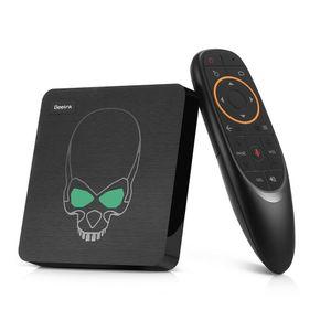 Beelink GT-king tv box Android9.0 Am-logic S922X 6 core GPU smart box 4GB LPDDR4 64GB support google tv remote voice control