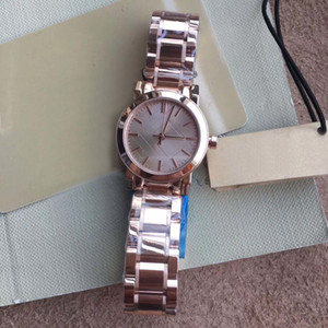 Fashion 26mm Ladies Watches Quartz Battery Womens Watch Wriswatches Rose Gold Hands And Dial With Rose Gold Bracelet