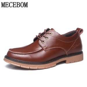 Wholesale Men s Oxford Leather Shoes Leisure Formal Business Shoes Male Brown Split Leather Men Dress chaussure homme M