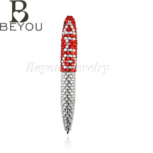 Wholesale events Delta Sigma Theta Sorority bling Greek letters Fashion Custom jewelry gift pen DST pen