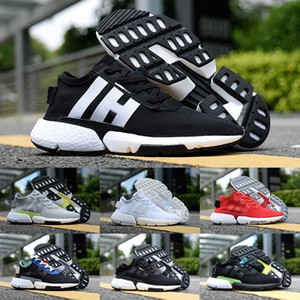 Wholesale 2018 Originals New Fashion Designer P O D S3 SYSTEM Sports Running Shoes Mens Women Pod S Triple Black Blue Tennis Sneakers