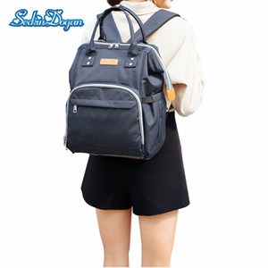 Wholesale SeckinDogan Baby Diaper Bag Thermal Insulation Baby Care Nappy Bag Multifunctional for Stroller Waterproof Mummy Backpacks