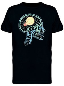 Wholesale X Ray Of Skull With Idea Men S Tee Image By Classic Unique Tee Shirt