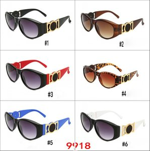 Wholesale Popular Brand Designer Sunglasses for Men and Women Nice Face Retro Sunglasses Wide Legs Goggles Colors UV Protection Sunglasses