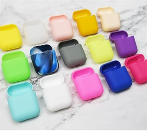 Silicone Case For Apple Airpods Soft TPU Ultra Thin Protector Cover Sleeve Pouch for Air pods Earphone Case with hook