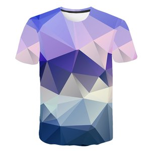 3D T Shirt 2019 Short Sleeve Summer Tops Poler Casual Tee Shirt Men Women Brand T- #392670