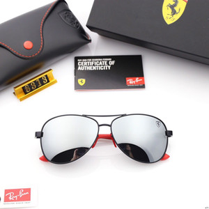 Wholesale 2019 New spring summer sunglasses Fashion gradient sunglasses for Oval men and women Retro polarized carbon fiber mirror legs eueglasses
