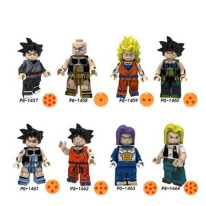 Wholesale Dragon Ball Z Black goku Naba Sun Wukong Badak Dales Learning Action Gift Toy PG8176