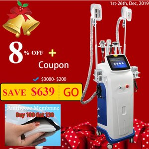 Wholesale Cryolipolysis vacuum therapy slimming machine lipo laser machines cavitation slimming RF skin tightening face lifting machine