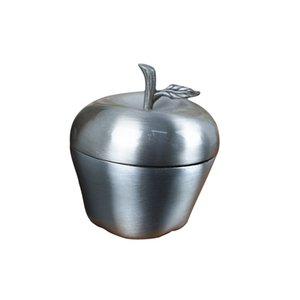 Wholesale silver jewellery boxes for sale - Group buy Lovely Apple Shape Mini Ring Box Antique Silver Jewelry Box for Earrings Pendant Necklace Zinc Alloy Gift Case Jewellery Casket
