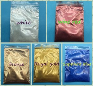 5 kinds of100 grams of bead powder for color makeup, a variety of color mica powder for nail glitter, pearl powder for color makeup pigment