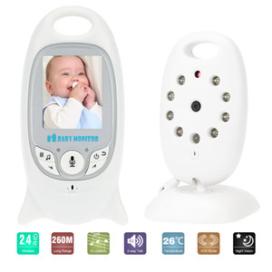 Wholesale Wireless Video Camera Baby Monitor IR LED Temperature Monitoring Night Vision CCTV Camera Two Way Talk with Lullaby Home Security System