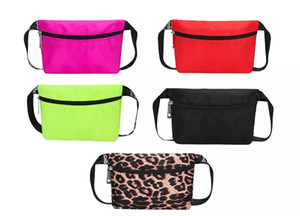 Fanny Pack Letter Waist Belt Bag Fashion Beach Travel Bags Waterproof Handbags Purses Outdoor Cosmetic Bag 11colors.