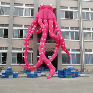 Wholesale Giant Inflatable Octopus Cartoon m Customized Promotional Advertising Inflatable Octopus