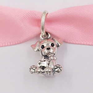 Wholesale silver labradors for sale - Group buy Authentic Sterling Silver Beads Labrador Puppy Dangle Charm Charms Fits European Pandora Style Jewelry Bracelets Necklace EN16