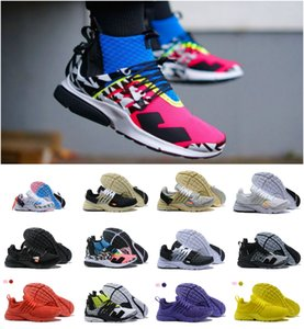 Wholesale 2019 Original ACRONYM X Air Presto Mid V2 Ultra BR TP QS Black White Running Shoes Cheap Sports Women Men Prestos off Designer Sneaker
