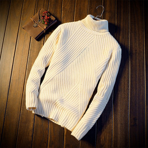 Wholesale Winter new turtleneck Men s Korean version Shown thin sweater casual casual string men s fashion
