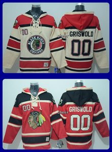 Wholesale 2017 New Chicago Blackhawks griswold Red beige Third Hoodies Top quality Ice Hockey jerseys Drop Shipping Accept Mixedorder