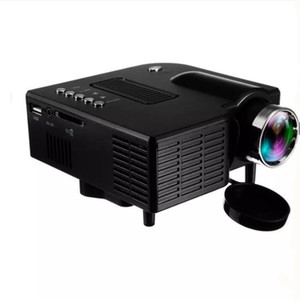 UC28+ Portable 3D LED Projectors Home Cinema Theater UC28 USB SD AV HDMI VGA Input Mini Multimedia Entertainment Pocket Beamer Wholesale