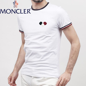 Wholesale 2019 Summer cool T Shirts Cotton Plus Size XL Tees Brand LOGO Embroidery Short Sleeve Men s T Shirts Male TShirts Plus Size S XL