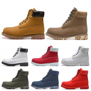 Wholesale 2019 TBL designer luxury boots for mens winter boots top quality womens Military Triple White Black Camo size