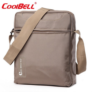 Wholesale Cool Bell inch Tablet Laptop Bag for iPad iPad Air Men Shoulder Laptop Messenger Bag Small Crossbody