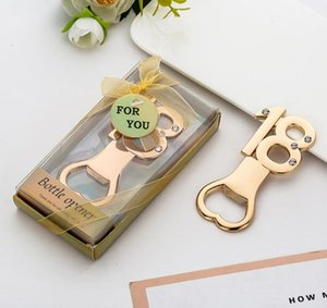 Wholesale anniversary ideas gifts resale online - 18th Bottle Opener th Year Anniversary Keepsake th Birthday Favors Event Giveaways Party Gifts Ideas Beer Cap Opener SN2985