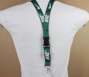 Wholesale Neck Strap Lanyard Safety Breakaway For ID Name Badge Holder Keys Metal Ring you can choose any color you like