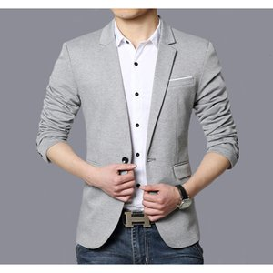 Wholesale I brought a tight suit short skirt men s fashion jacket sportswear men s clothes cotton clothes