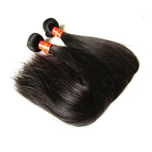 Wholesale straight weave for natural hair resale online - 3 Bundles g Deals Malaysian Straight Human Hair Bundles Unprocessed Remy Human Hair Extension Weave Natural Color For Black Women