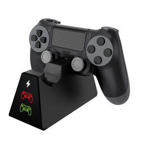 Wholesale High Quality PS4 Controller PS4 Slim P4 Pro Gamepad Game LED Charging Dock Station Charger Stand Holder Storage Fast Charge