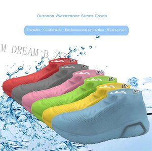 Wholesale Silicone Anti Skid Rain Shoes Boots Waterproof Shoe Cover Raincoat Cover Recyclable Anti slip Shoes Overshoes For Beach Raining