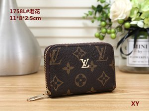 Wholesale High Quality Pu Leather Fashion Card Wallet Men's Card Wallet pocket bag European bag #1758