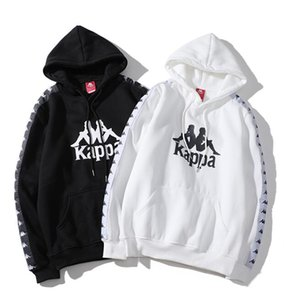 Wholesale 2019 new Kappa hooded string knit sweater hoodie