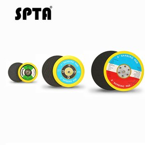 Wholesale SPTA Car Polishing Pad Backer Backing Plate Pad inch Hook Loop For DA Car Polisher Air Sander Buffing Roary Polish