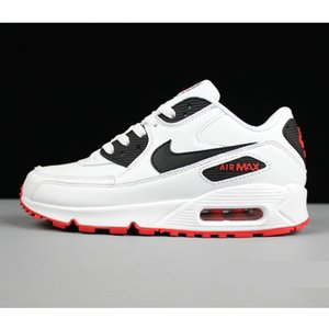 Fashion designer sneakers 90s men women running shoes 90 white black red grey blue for cheap sale
