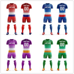 DIY Custom Sublimation Blank Football Uniforms kit Free Design Soccer Team Shirt Tops Quick Dry Breathable Mens Soccer Jerseys on Sale