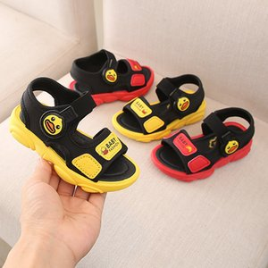 Wholesale Children Kids Sandals For Girls Summer Catamite Small Yellow Duck Cartoon Baby Little Bear Shoe Girl Leisure Time Beach Infant Fashion