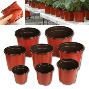 Wholesale Plant Flower Pots Plastic Universal Soft Flowers Nursery Storage Pots Container Garden Decoration Flowerpot Home Planters KKA7158