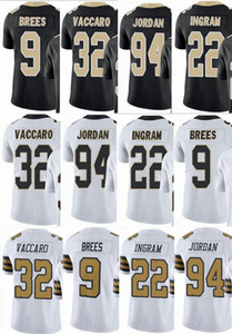 Saints Custom 9 Drew Brees 94 Cameron 32 Kenny Vaccaro 22 Mark Ingram Men Women Youth Vapor New