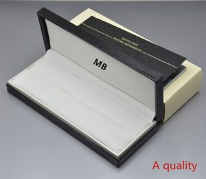 Wholesale Luxury MB Brand Pen Gift Box With Service Guide Book High Quality Black Classic Style Set Pen Case For Business Gift Pen Packing