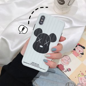 Wholesale Fashion Cell Phone Case Accessories Suitable for iPhone Violent bear suitcase phone case soft rubber sleeve Cell Phone Accessories