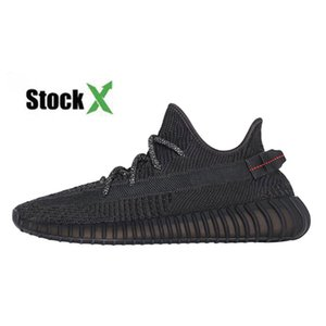 Wholesale Kanye West New Cloud White Citrin GID Black Static Reflective Running Shoes Men Women Antlia Lundmark Synth Clay White Designer Sneakers