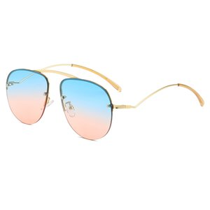 Wholesale personalized sunglasses for sale - Group buy Women s Personalized Frameless Sunglasses Color Metal Enamel Glasses Men And Women With The Same Sunglasses Sunglasses