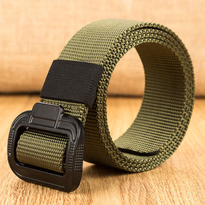 Wholesale Men Women Tactical Belt cm Quick Release Nylon Belt Outdoor Multifunctional Training High Quality