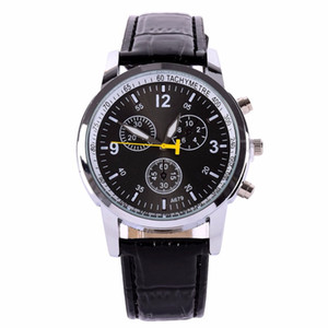 Watch Men Sports Men Women Leather Strap Analog Quartz Watches Wrist Watch on Sale