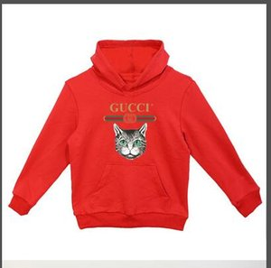 Wholesale 2019 New baby designer brand 2-9 t year - old boys and girls hoodie shirt tops children's clothing D3